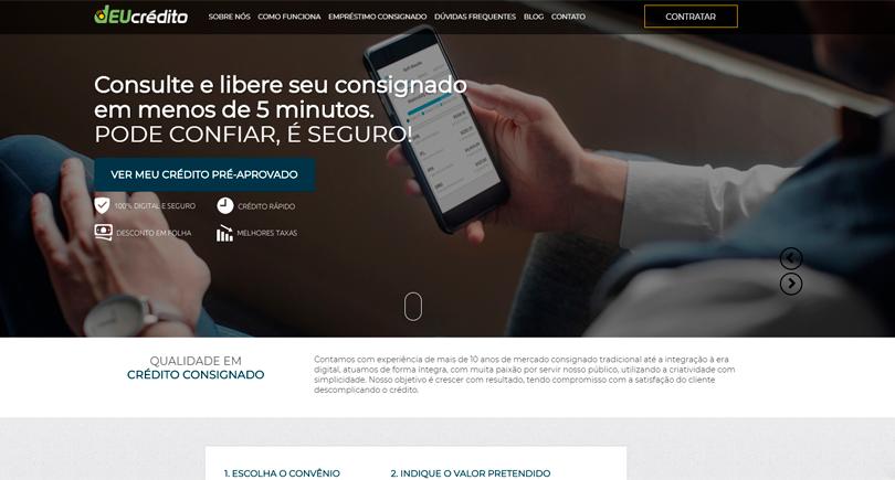 Blog DEUcrédito - Novo site da deucrédito